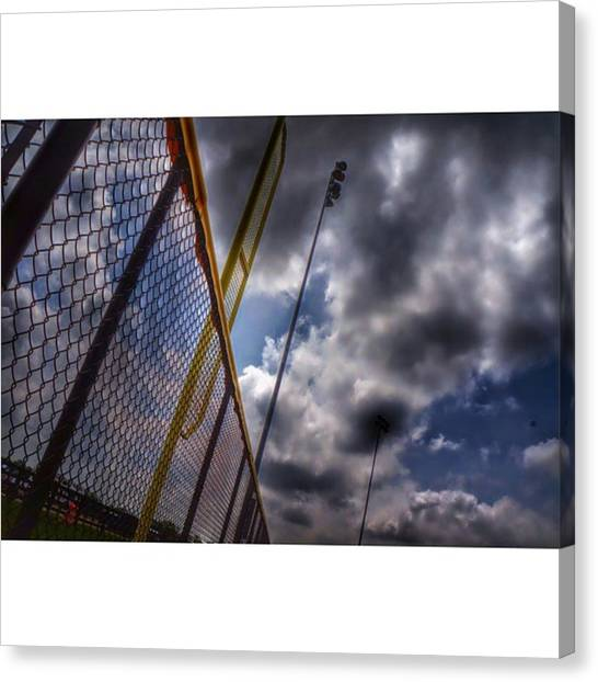 Strikeout Canvas Print - Kind Of Took This By Accident Today by Joey Bailey