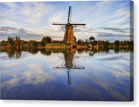 Holland Canvas Print - Kinderdijk by Chad Dutson