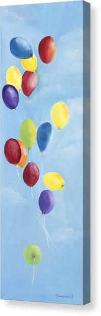 Kinderfest Canvas Print