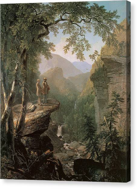 American Painters Canvas Print - Kindred Spirits by Asher Brown Durand