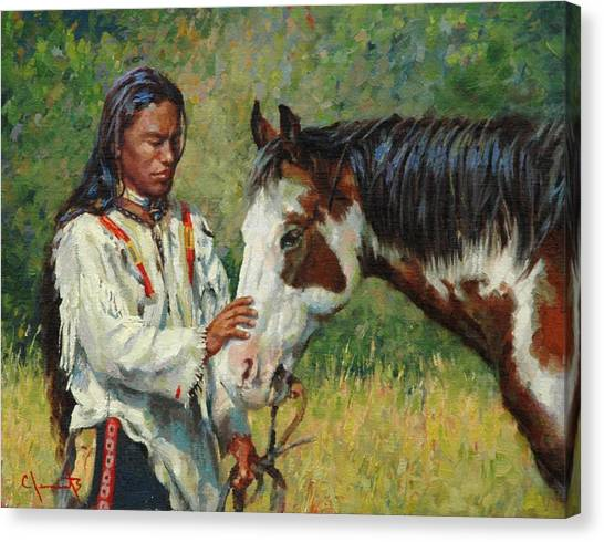 Kindred Spirits Canvas Print by Jim Clements