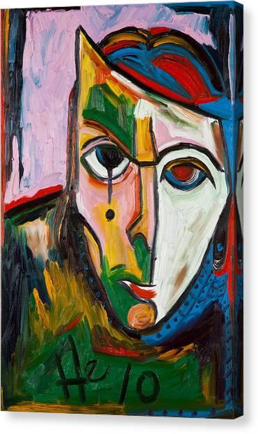 King Izzy 36x24 Canvas Print