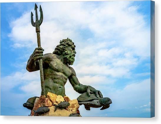 King Neptune Canvas Print