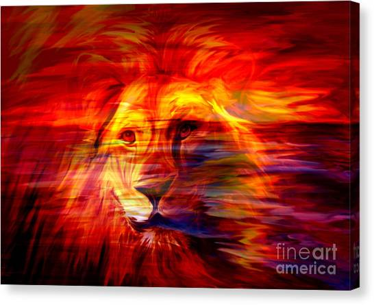 King Of Glory Canvas Print