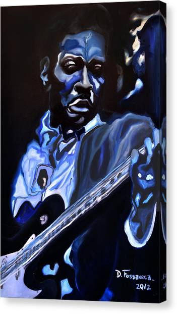 King Of Swing-buddy Guy Canvas Print