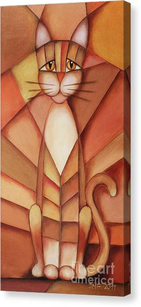 King Of The Cats Canvas Print