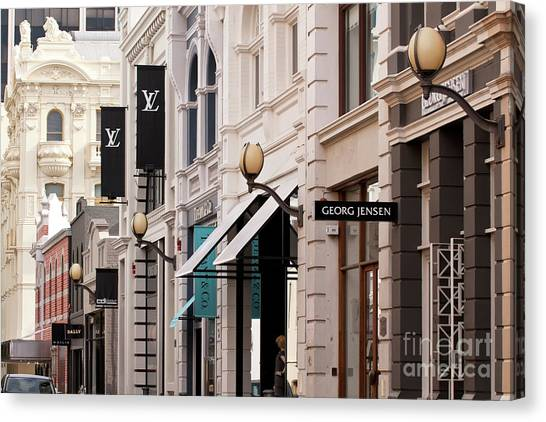 Canvas Print - King Street 02 by Rick Piper Photography