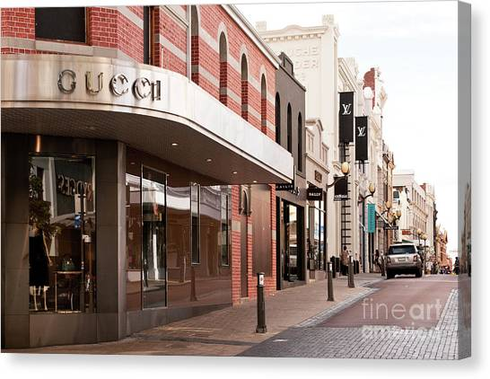 Canvas Print - King Street 08 by Rick Piper Photography