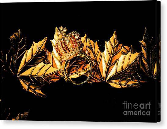 Gemstones Canvas Print - Kingdom In Fall by Jorgo Photography - Wall Art Gallery