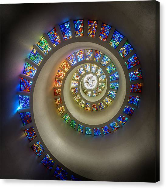 Glass Art Canvas Print - Kingdom Of Light by Stephen Stookey