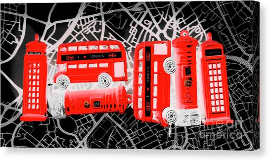 Urban Life Canvas Print - Kingdom Of United Touring Charms  by Jorgo Photography - Wall Art Gallery