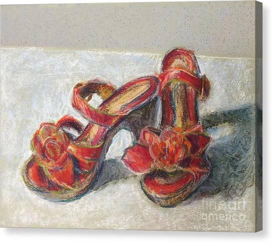 Kingdom Shoes Canvas Print