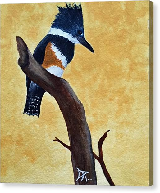 Kingfisher No. 1 Canvas Print