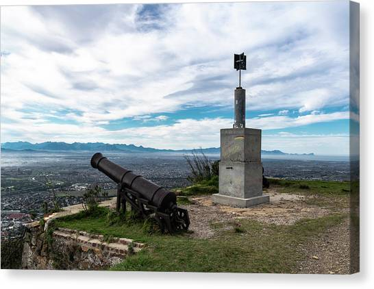 Canvas Print - Kings Blockhouse On Table Mountain by Steven Richman
