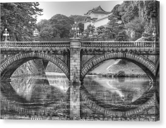 Kings Bridge Tokyo Canvas Print