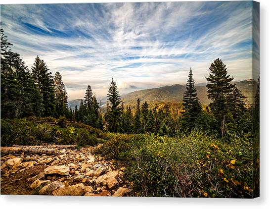 King's Canyon Crown Canvas Print