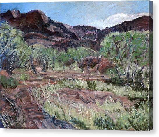 Kings Canyon II Canvas Print by Joan De Bot