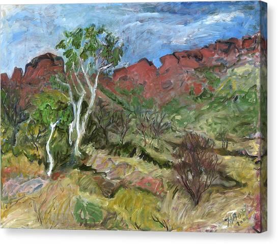 Kings Canyon Canvas Print by Joan De Bot