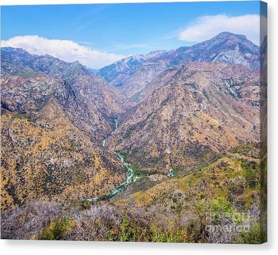 King's Canyon  Canvas Print