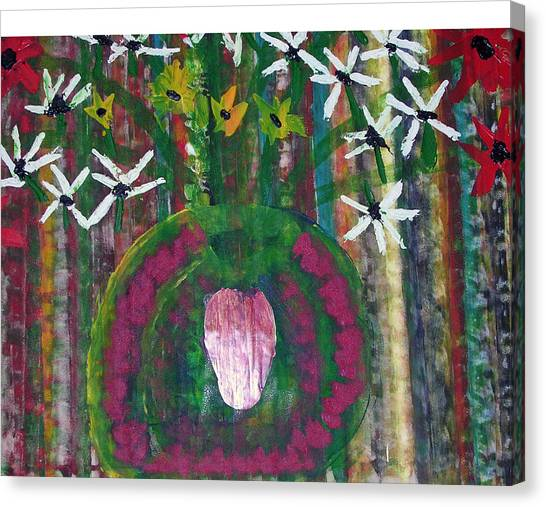 Kings Flowers Canvas Print by Russell Simmons