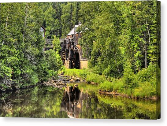 King's Landing Old Mill   Canvas Print by Levin Rodriguez
