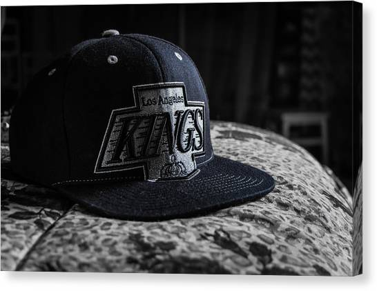 Los Angeles Kings Canvas Print - Kings by Orlando Gutierrez