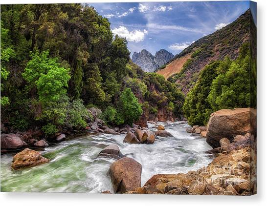 Kings River Canvas Print
