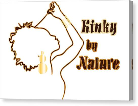Kinky By Nature Canvas Print