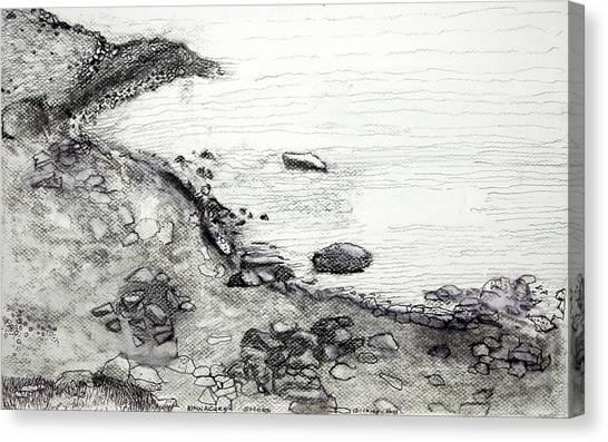 Kinnacurra Shore Canvas Print