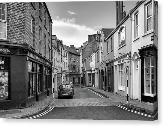 Kinsale Side Street Canvas Print