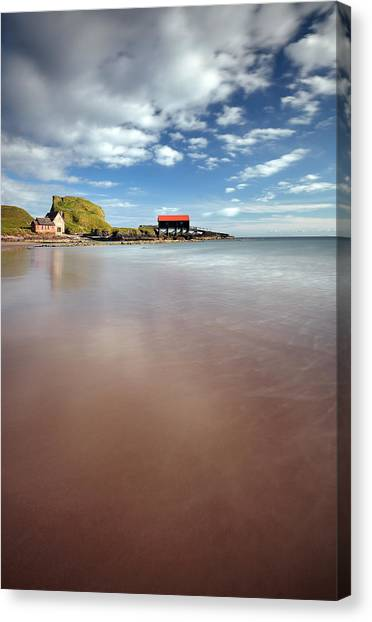 Kintyre Beach Canvas Print