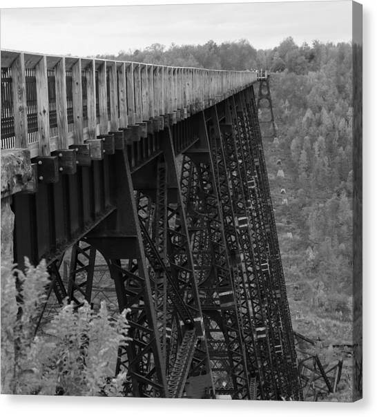 Kinzua Skywalk Canvas Print
