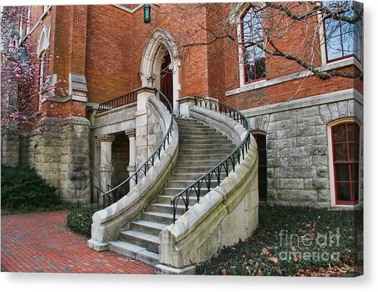 Vanderbilt University Canvas Print - Kirkland Hall Stairway Vanderbilt University  189 by Jack Schultz