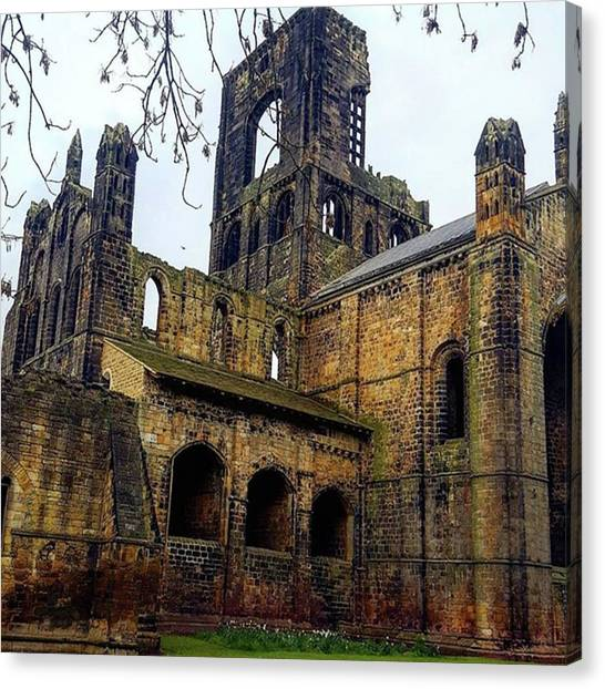 #kirkstallabbey #leeds How's Your Bank Canvas Print by Dante Harker