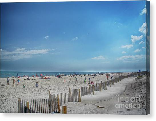 Canvas Print featuring the photograph Kismet Family Fun by Judy Hall-Folde