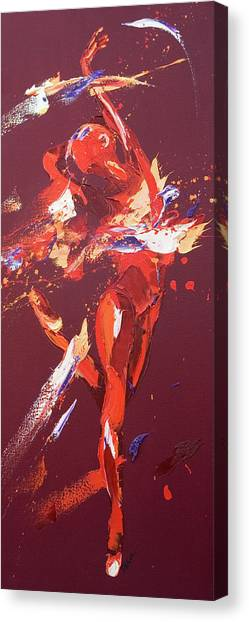 Kinetic Canvas Print - Kiss by Penny Warden