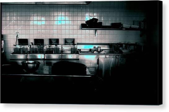 Kitchen Canvas Print by Michael Morrison