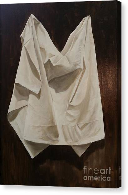 Painting Alla Rembrandt - Minimalist Still Life Study Canvas Print