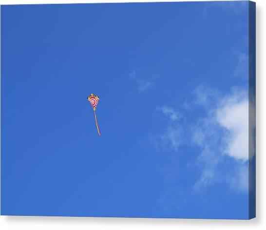 Kite Flying  Canvas Print by Carol McCutcheon
