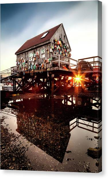 Kittery Lobster Shack Canvas Print