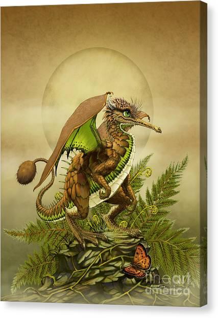 Kiwis Canvas Print - Kiwi Dragon by Stanley Morrison
