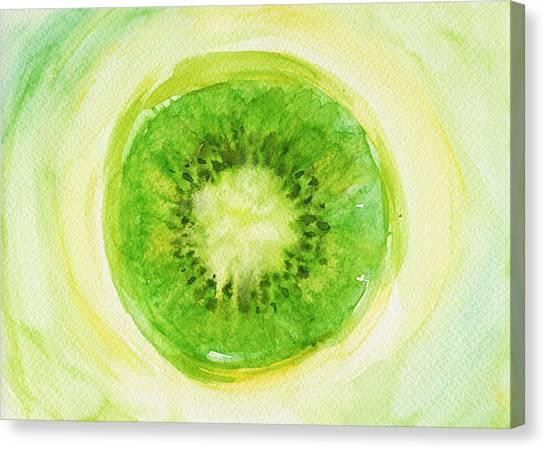 Kiwis Canvas Print - Kiwi Fruit by Kathleen Wong