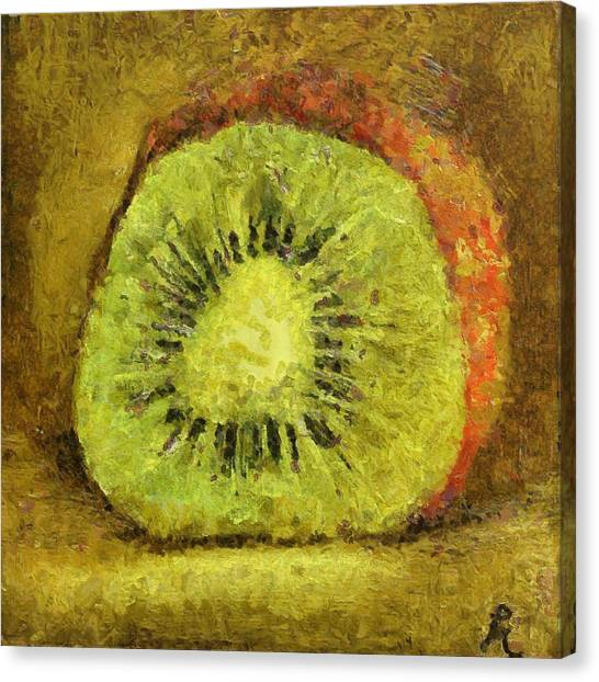 Kiwifruit Canvas Print