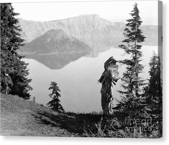 Aod Canvas Print - Klamath Chief, C1923 by Granger