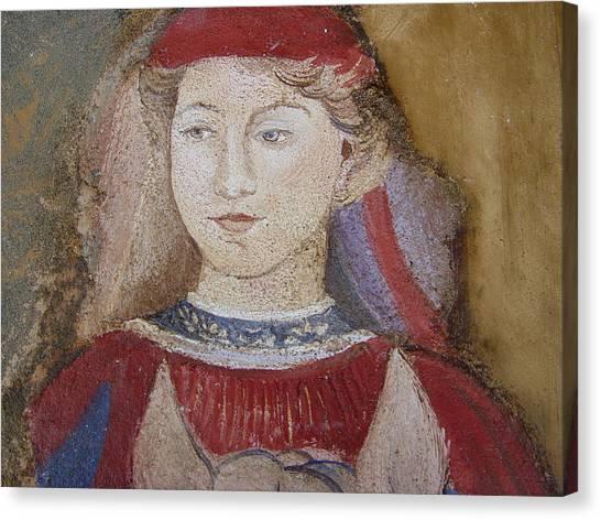 Knight Canvas Print by Maria Grazia  Repetto