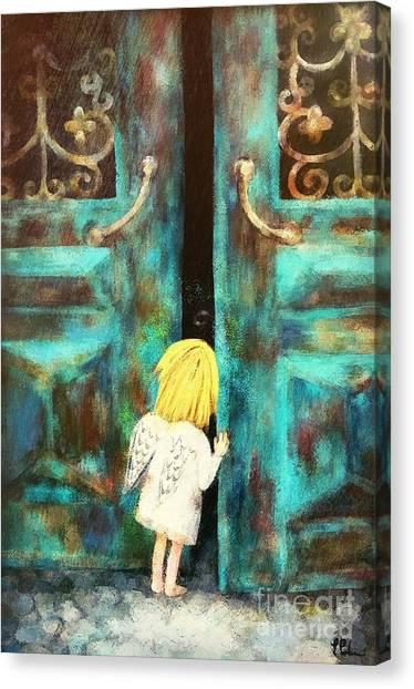 Knocking On Heaven's Door Canvas Print