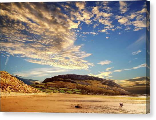 Knocknarae From Culleenamore Beach Canvas Print