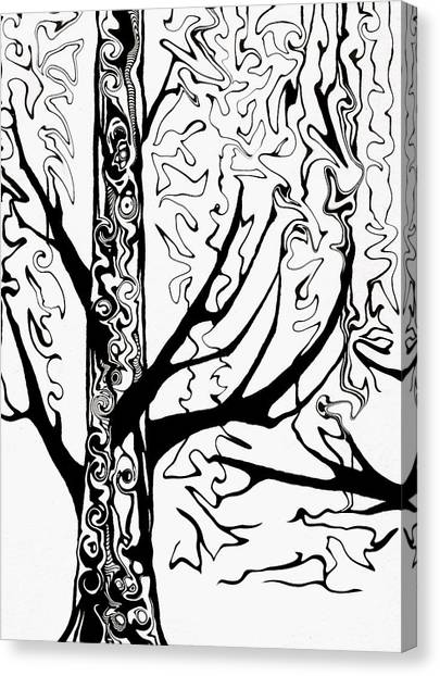 Knots Canvas Print by Jeff DOttavio