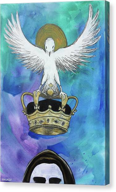 Prophetic Art Canvas Print - Know Who You Are by Nathan Rhoads