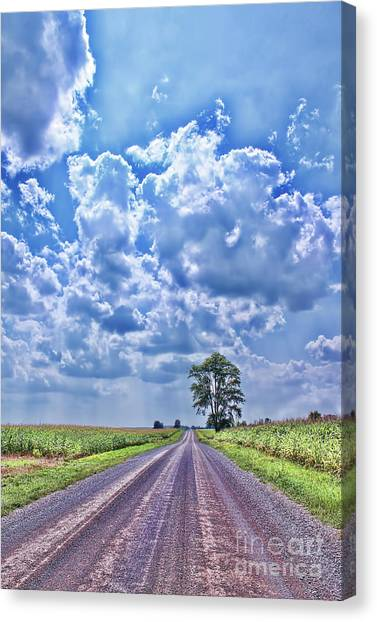Knowing The Right Way Canvas Print